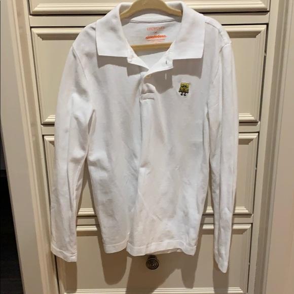 Boys JCrew Crewcuts long sleeve polo shirt sz 6-7